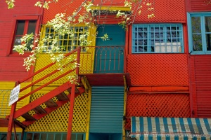 Colorful La Boca Architecture